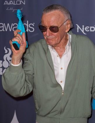 The Geekie Awards - Photos By Joe Lester - Stan Lee and Geekies Award