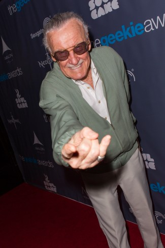 The Geekie Awards - Photos By Joe Lester - Stan Lee