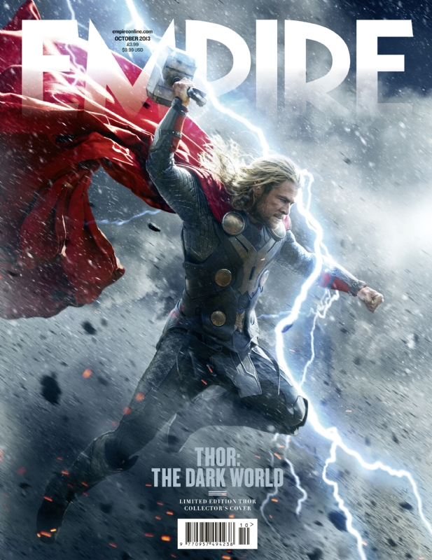 Chris Hemsworth Thor: The Dark World empire magazine limited edition cover rare