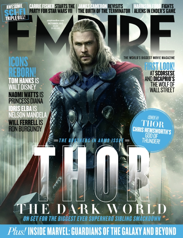 Thor-Cover2 Chris Hemsworth Thor: The Dark World empire magazine limited edition cover rare