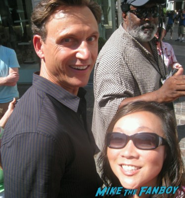 Tony Goldwyn fan photo rare extra a the grove signing autographs for fans rare promo ghost star