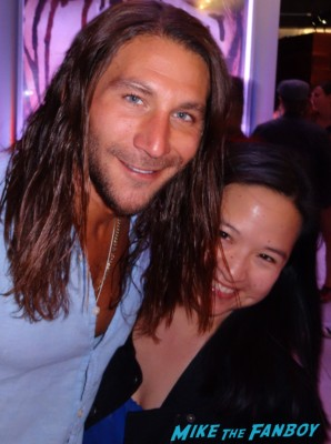 Zach McGowan fan photo signing autographs for fans hot sexy black sails star rare