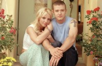 britney spears and justin timberlake adorable photo Britney_VMA britney spears writhing around with a snake rare promo live in concert