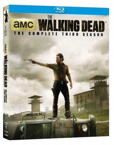 The Walking Dead season 3 blu ray review rare promo rick grimes cover