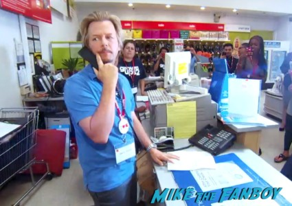 david spade at kmart promoting grown ups 2 (9)
