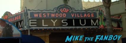 Elysium Movie Premiere! With Jodie Foster! Matt Damon! Sharlto Copley! Neill Blomkamp! Alice Braga! Diego Luna! Autographs! And More!