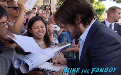 Diego Luna signing autographs at the Elysium Movie Premiere! With Jodie Foster! Matt Damon! Sharlto Copley! Neill Blomkamp! Alice Braga! Diego Luna! Autographs! And More!