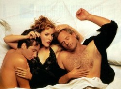 gillian anderson david duchovny naked in bed rolling stone magazine cover chris carter