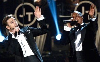 jay z and justin timberlake concert at staples center rare live in concert