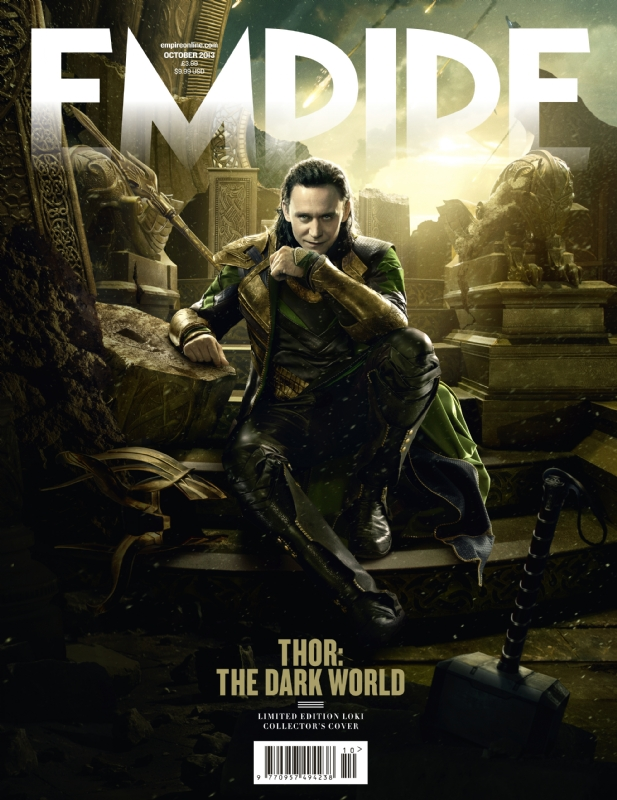 loki-cover1 Tom Hiddleston Thor: The Dark World empire magazine limited edition cover rare