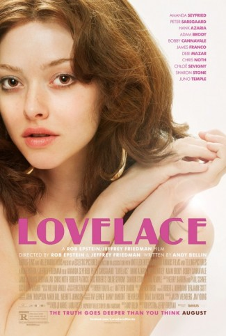 Amanda Seyfried Lovelace image rare hot sexy promo Lovelace UK Quad movie poster amanda seyfried rare Lovelace logo main title image rare promo Amanda Seyfried