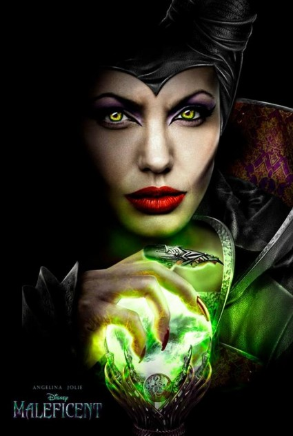 New Walt Disney S Maleficent Movie Poster Angelia Jolie