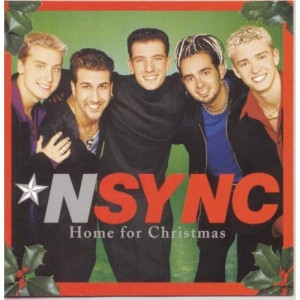 nsync_christmas album cover rare home for christmas