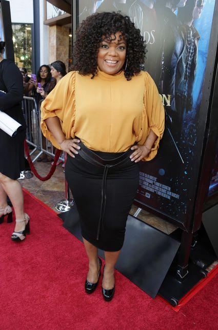 Yvette Nicole Brown Douglas Smith Percy Jackson sea of monsters glendale fan screening