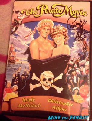 Christopher Atkins signed autograph the pirate movie dvd cover rare