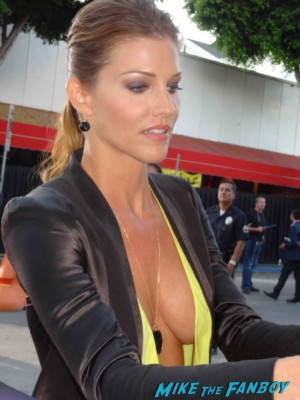 Tricia Helfer looking hot at the riddick movie premiere