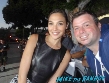 Gal Gatot fan photo signing autographs for fans rare fast and furious star
