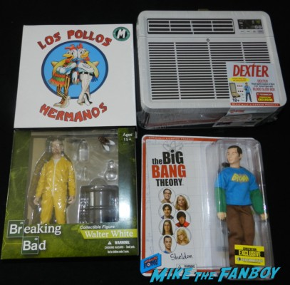 San diego comic con exclusives breaking bad big bang theory dexter action figure 2013