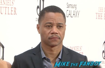 cuba gooding Jr. on the red carpet at the butler movie premiere ny red carpet jane fonda oprah winfrey mariah carey (4)