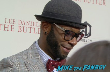 Nelsan Ellis on the red carpet at the butler movie premiere ny red carpet jane fonda oprah winfrey mariah carey (17)