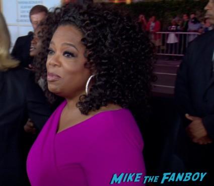 Oprah Winfrey at the butler movie premiere red carpet oprah winfrey jimmy kimmel jane fonda red carpet