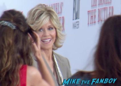 Jane Fonda at the butler movie premiere red carpet oprah winfrey jimmy kimmel jane fonda red carpet