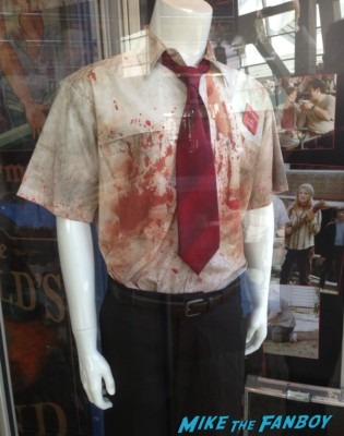 shaun of the dead prop and costume display hollywood shaun of the dead hot fuzz (11)