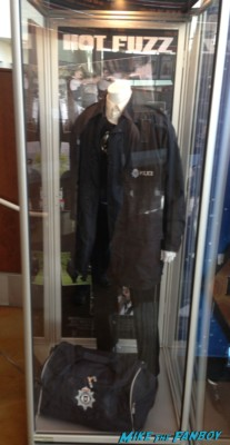 Hot Fuzz prop and costume display hollywood shaun of the dead hot fuzz