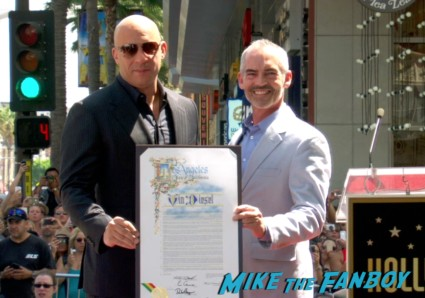 vin diesel walk of fame star ceremony signing autographs jordana brewster (25)