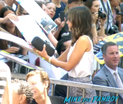 Jordana brewsters signing autographs er speech vin diesel walk of fame star ceremony signing autographs jordana brewster