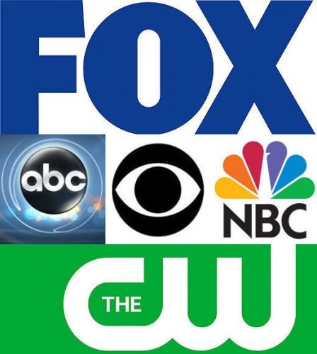 fall television logo rare promo fox the cw cbs abc