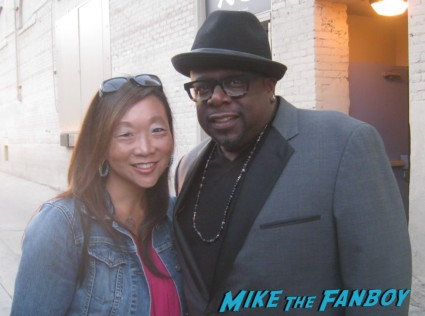 Cedric the entertainer fan photo signing autographs for fans rare promo hot