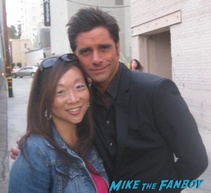 john stamos signing autographs for fans rare uncle jessie full house rare