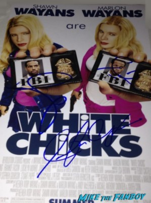 terry crews signed autograph white chicks movie poster