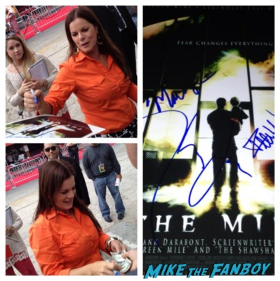 marcia gay hardin signing autographs cloudy with a chance of meatballs 2 premiere