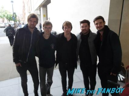 Kodaline fan photo group signing autographs hot irish band