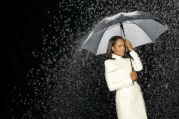KERRY WASHINGTON Scandal kerry washington season 3 promo photo hot rain all wet