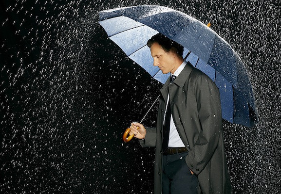 TONY GOLDWYN scandal season 3 promo photo wet singing in the rain rare President Fitzgerald Grant
