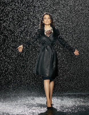 BELLAMY YOUNG scandal season 3 promo photo rare wet singing in the rain