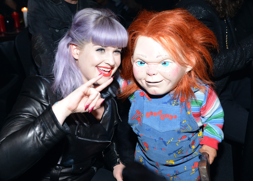 Kelly Osbourne The curse of chucky premiere eyegore awards red carpet