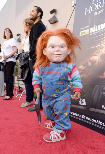 The curse of chucky premiere eyegore awards red carpet