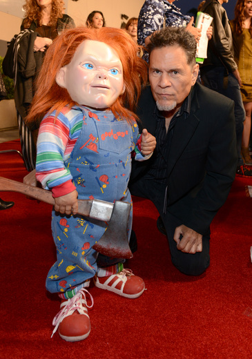 A Martinez The curse of chucky premiere eyegore awards red carpet