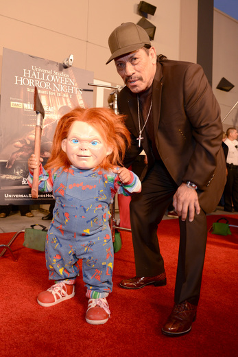 Danny Trejo The curse of chucky premiere eyegore awards red carpet