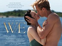 W.e. film poster rare uk quad movie poster abbie cornish