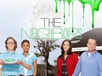 The Neighbors logo rare season 1 wallpaper image cast photo IAN PATRICK, TIM JO, SIMON TEMPLEMAN, TOKS OLAGUNDOYE, JAMI GERTZ, LENNY VENITO, CLARA MAMET, MAX CHARLES, ISABELLA CRAMP IAN PATRICK, TIM JO, SIMON TEMPLEMAN, TOKS OLAGUNDOYE, JAMI GERTZ, LENNY VENITO, CLARA MAMET, MAX CHARLES, ISABELLA CRAMP