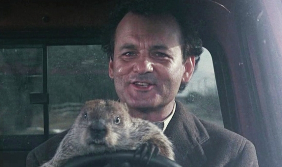 bill murray groundhog day press still photo rare