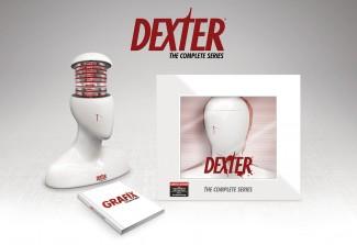 Dexter blood splatter mannequin limited edition complete series set