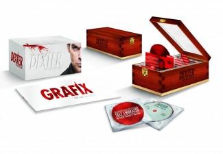 Dexter blood slide limited edition complete series set