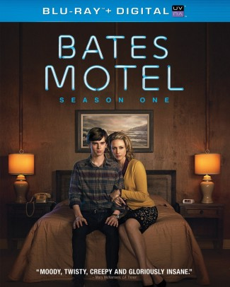 Bates motel season one blu-ray cover art vera farmiga freddie highmore bates motel photo rare