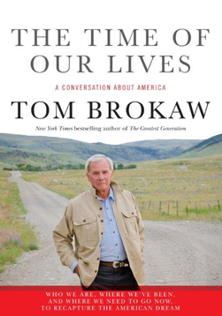 tom brokaw our lives signed autograph book rare promo book signing
